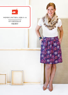 digital everyday skirt sewing pattern
