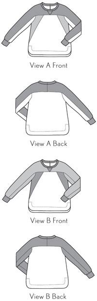 Noord Sweatshirt Flat Illustration