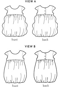 bubble dress sewing pattern