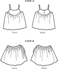 swingset tunic + skirt sewing pattern