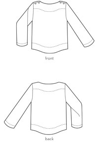 sailboat top sewing pattern