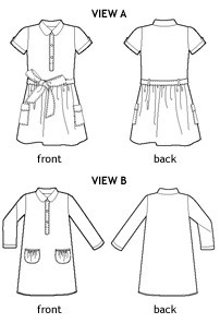 jump rope dress sewing pattern