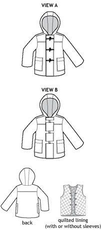 Digital School Days Jacket   Coat Sewing Pattern | Shop | Oliver   S