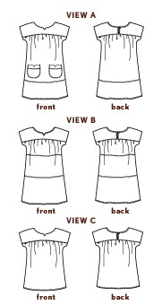 ice cream dress sewing pattern