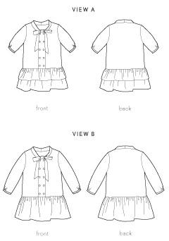 apple picking dress sewing pattern