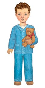 sleepover pajamas sewing pattern