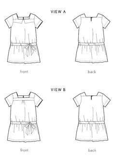 croquet dress sewing pattern