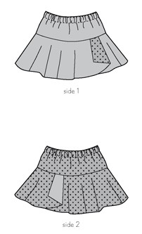 hula hoop skirt sewing pattern