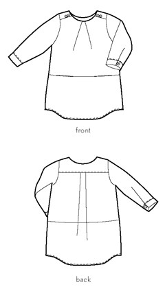 book report dress sewing pattern