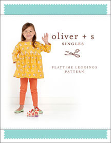 digital playtime leggings sewing pattern