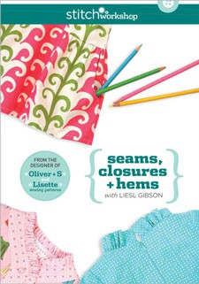 seams, closures + hems with liesl gibson