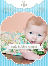 digital carly bubble romper sewing pattern