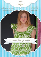 digital dana top/dress sewing pattern