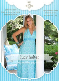 digital lucy halter dress sewing pattern