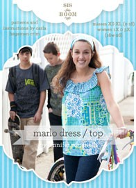 digital marlo top/dress sewing pattern