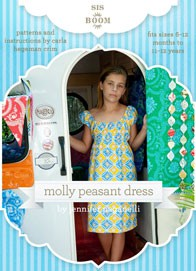 digital molly peasant sewing pattern