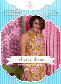 digital rebecca shift dress sewing pattern