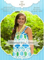digital vanessa top/dress sewing pattern