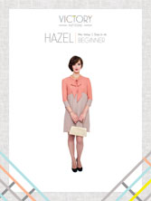 digital hazel sewing pattern