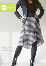 digital kinaco skirt sewing pattern